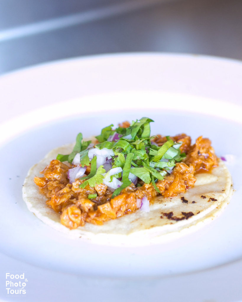 Cochinita Pibil Taco_a_photo_taken_on_a_food_tour_in_Pitillal_Puerto_Vallarta