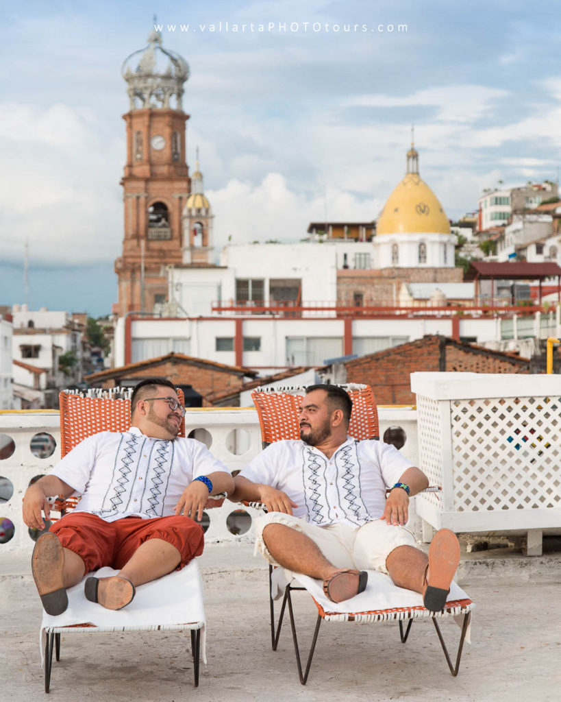Photographer in Puerto Vallarta for Gay and Lesbian Honeymoon and Engagement Photography Sessions + Vallarta Pride