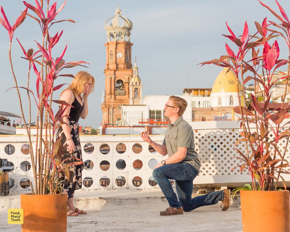 Surprise proposal in Puerto Vallarta