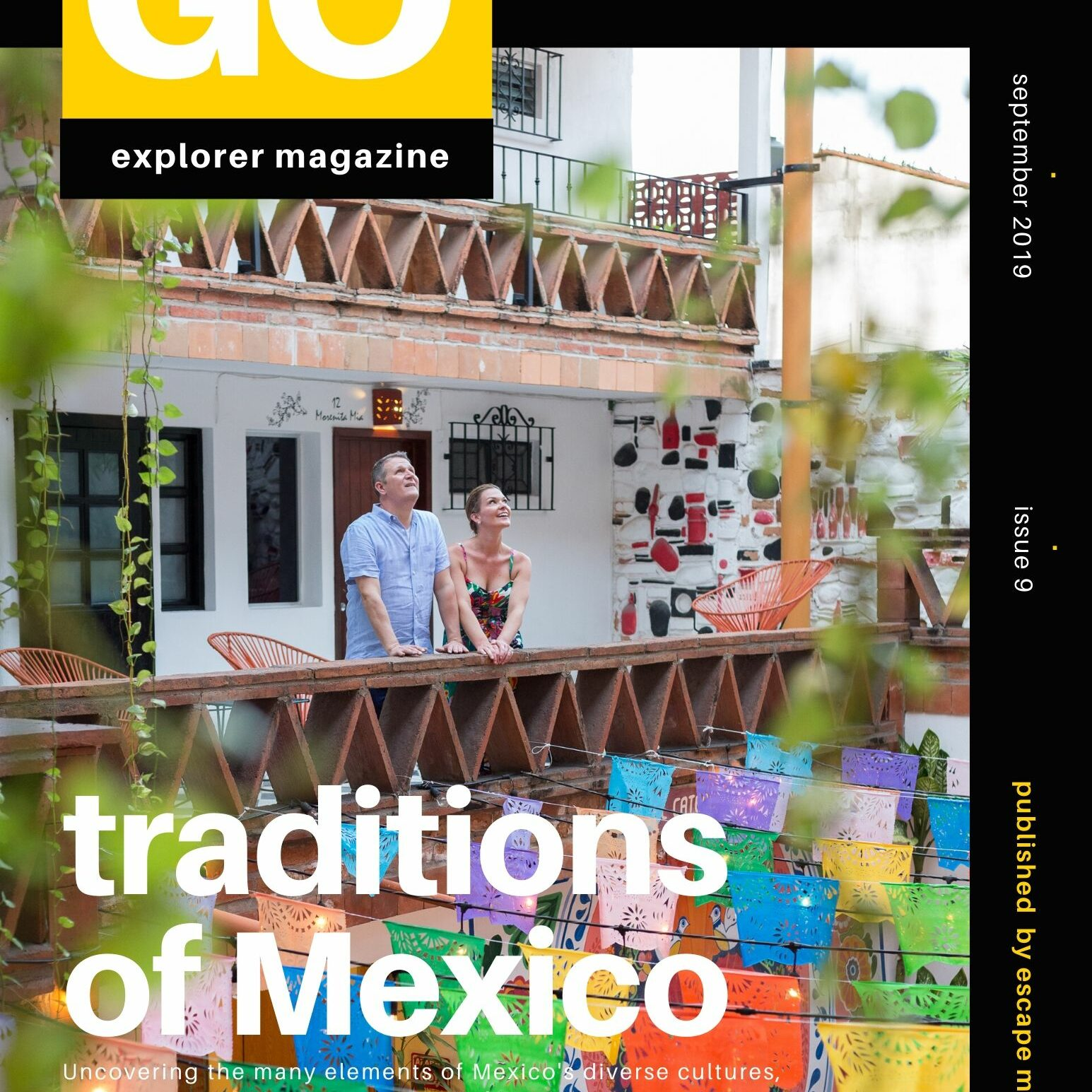 Magazine cover + Traditions of Mexico + Vallarta Food and Photo Tours + jpeg